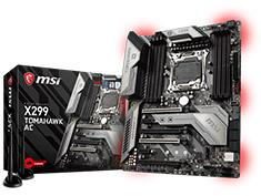 MSI X299 Tomahawk AC Motherboard