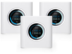 Ubiquiti Amplifi HD Expandable Wireless AC Router (3 Pack)