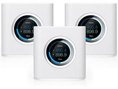 Ubiquiti Amplifi HD Expandable Wireless AC Router (3 Pack)