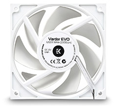 EK Vardar EVO 120ER 2200RPM Fan White