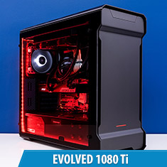 PCCG Evolved 1080 Ti Gaming System