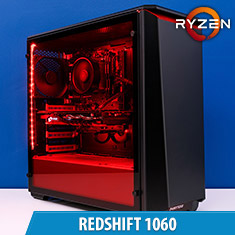 PCCG Redshift 1060 Gaming System