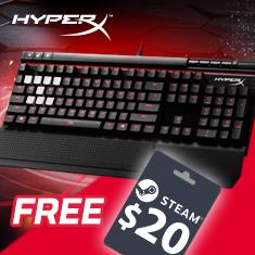 HyperX Alloy Elite Mechanical Gaming Keyboard MX Blue