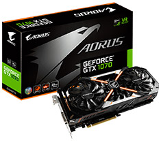 Gigabyte AORUS GeForce GTX 1070 8GB