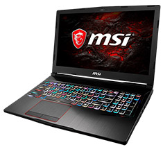 MSI GE73VR Raider 17.3in Windows 10 Gaming Laptop [7RE-073]
