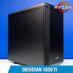 PCCG Obsidian 1050 Ti Gaming System