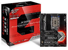 ASRock Fatal1ty X399 Professional Gaming Motherboard