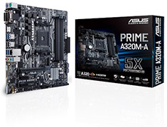 ASUS Prime A320M-A Motherboard