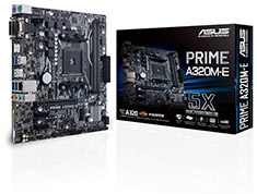 ASUS Prime A320M-E Motherboard