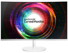 Samsung C32H711 31.5in Curved QHD Quantom Dot Monitor