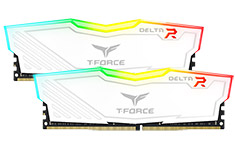 Team T-Force Delta RGB 2400MHz 16GB (2x8GB) DDR4 White