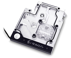 EK FB GA AX370 Gaming RGB Monoblock Nickel