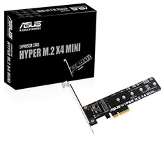 ASUS Hyper M.2 X4 Mini Expansion Card
