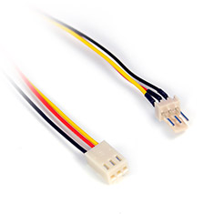 PCCG 3pin Male to Female Fan Extension Cable