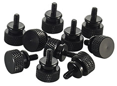 CableMod Anodized Aluminium Thumbscrews - Black