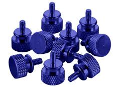 CableMod Anodized Aluminium Thumbscrews - Blue