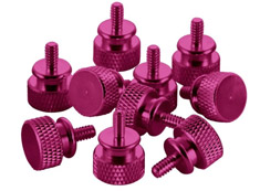 CableMod Anodized Aluminum Thumbscrews - Pink