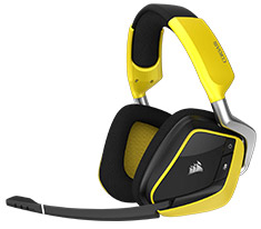 Corsair VOID Pro RGB Wireless SE Gaming Headset Yellow