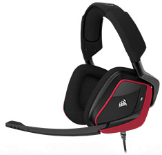 Corsair VOID Pro Surround Premium Gaming Headset Red