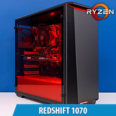 PCCG Redshift 1070 Gaming System