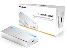 AVerMedia ExtremeCap UVC BU110 HDMI to USB-C Video Converter