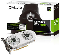 Galax GeForce GTX 1050 Ti EXOC White 4GB