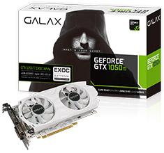 Galax GeForce GTX 1050 Ti EXOC White 4GB