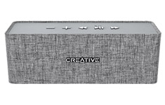 Creative Nuno Bluetooth Speaker Gray