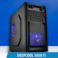 PCCG Deepcool 1050 Ti Gaming System
