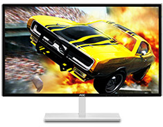 AOC Q3279VWF QHD 75Hz Freesync 32in VA Gaming Monitor