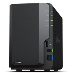 Synology DiskStation DS218+ 2 Bay NAS with 2GB RAM