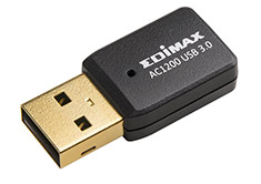 Edimax Dual Band Wireless AC1200 MIMO Mini USB 3.0 Adapter