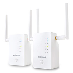 Edimax Gemini RE11 AC1200 Gigabit Range Extender Roaming Kit