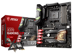 MSI X370 Gaming M7 ACK Motherboard