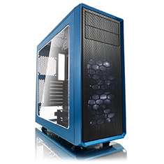 Fractal Design Focus G ATX Case with Window Petrol Blue