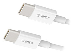 Orico Type-C to Type-C Charge & Data Cable 1m White