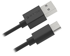 Orico USB Type-C to Type-A Charge and Sync Cable Black