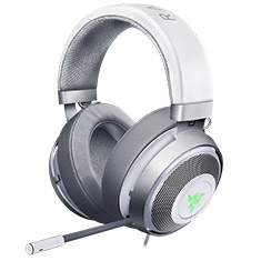 Razer Kraken 7.1 V2 Surround Sound Gaming Headset Mercury