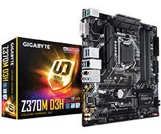 Gigabyte Z370M D3H Motherboard