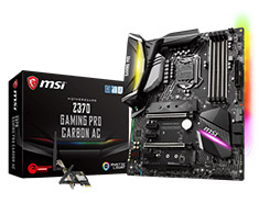 MSI Z370 Gaming Pro Carbon AC Motherboard