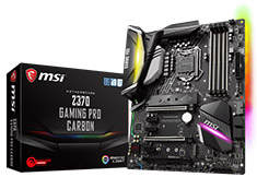 MSI Z370 Gaming Pro Carbon Motherboard