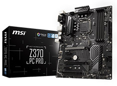 MSI Z370 PC Pro Motherboard (Open Box)