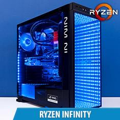 PCCG Ryzen Infinity Gaming System
