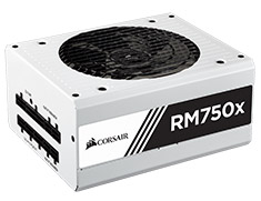 Corsair RM750x Gold 750W Power Supply - White
