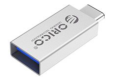 Orico Aluminium Type-C to USB-A OTG Adapter