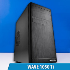 PCCG Wave 1050 Ti Gaming System