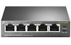TP-Link TL-SF1005P 5 Port Switch with PoE