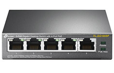 TP-Link TL-SG1005P 5 Port Gigabit Switch with PoE