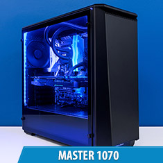 PCCG Master 1070 Gaming System