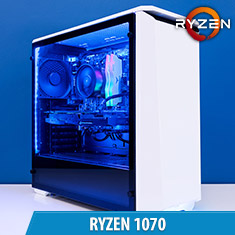 PCCG Ryzen 1070 Gaming System